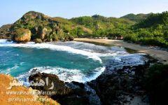 سواحل یوگیاکارتا در اندونزی