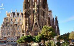 کلیسا ساگرادا فامیلیا اسپانیا