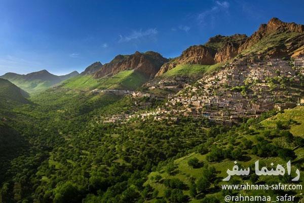روستای اورامانات كردستان