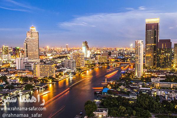 رودخانه چائو فرایا (Chao Phraya River)